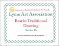 Heather 2014 Scholastic Art & Writing - Best in Traditional Drawing Award